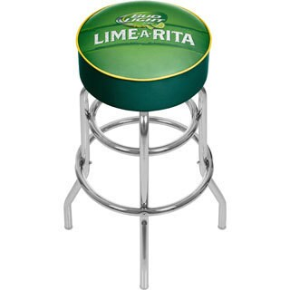 Bud Light Padded Swivel Bar Stool