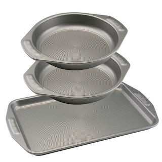Circulon(r) Nonstick Bakeware 3-Piece Cookie and Cake Set