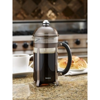 BonJour Coffee 8-cup Maximus Truffle French Press
