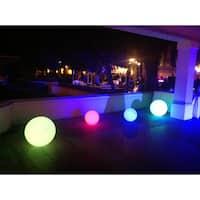 Bellini Home and Garden Multicolored Polyethylene LED Globe Ball