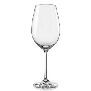 Red Vanilla Viola White Wine Glass Set/6 11.75oz