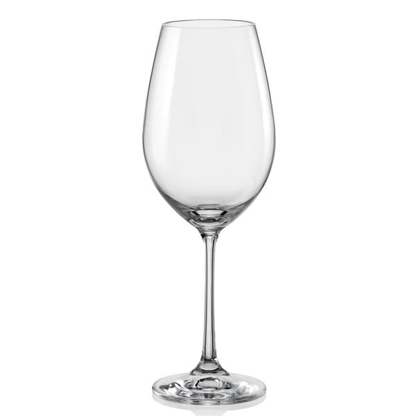 Red Vanilla Viola White Wine Glass Set/6 11.75oz