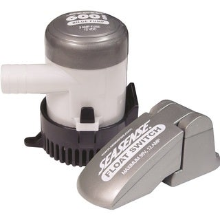 SeaSense 600 GPH Bilge Pump and Float Switch Combo