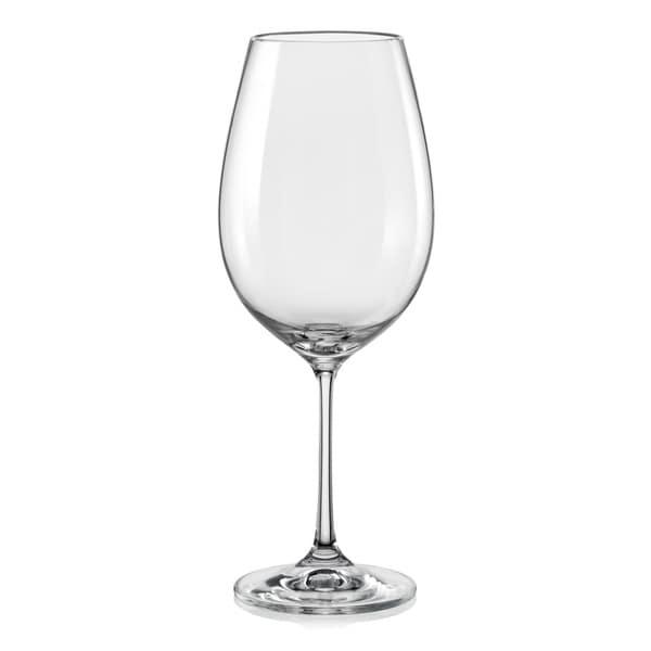 Red Vanilla Viola Red Wine Glass Set/6 18.5oz