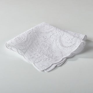 Classic Embroidered Handkerchief