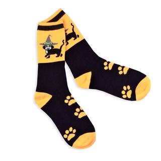 Halloween Fun Socks Womens Crew Knee High Sock Single Pair (11240-PO7C)1240-PO7B)