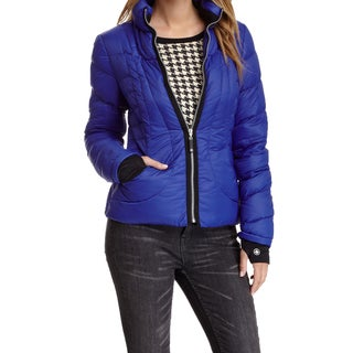 Halifax Traders Royal Blue Down Puffer Packable Coat