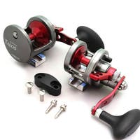 Omoto Talos TS12N Fishing Jigging 25# Drag Narrow Reel 1-Speed Ocean/Fresh yellowtail bass tuna