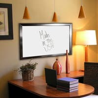American Made Rayne Silver Rounded Whiteboard