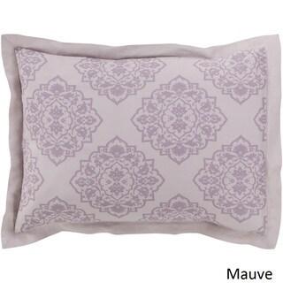Sheena Floral Linen/ Cotton Sham (3 options available)