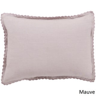 Sidney Solid Color Linen Sham (More options available)