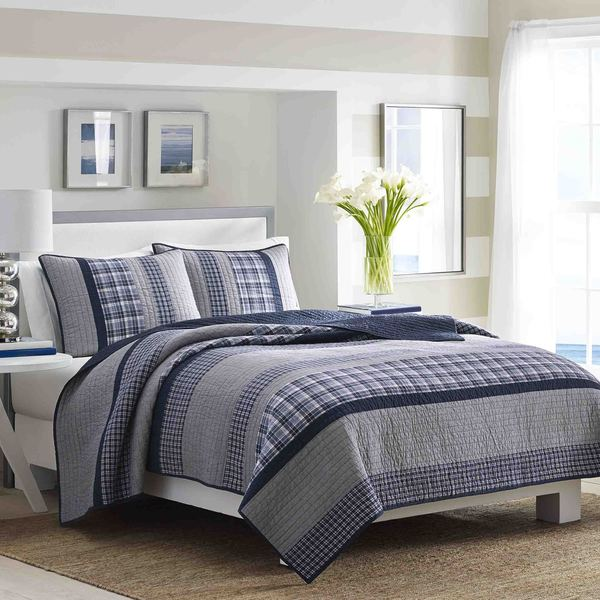 Shop Nautica Adleson Pieced Cotton Quilt Collection On