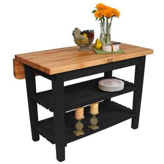 John boos kitchen furniture for less overstock john boos 60 x 32 kitchen island bar kib02 bk blackr with 13 workwithnaturefo