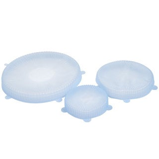Chef Buddy Set of Three Universal Reusable Silicone Food Covers