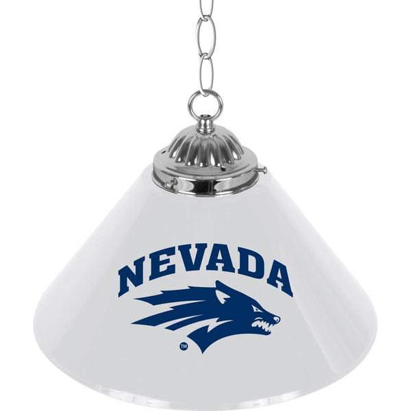 University of Nevada Single Shade Bar Lamp - 14 inch