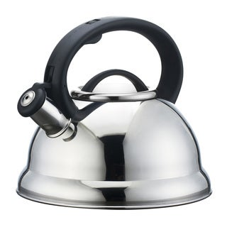 Mirror Finish Stainless Steel 2.3L (2.4Quart) Whistling Tea Kettle