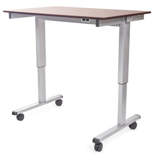 "Luxor STANDE-48-AG/DW Stand Up 48"" Electric Desk"