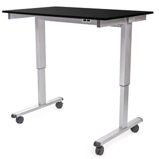 """Luxor STANDE-48-AG/BO Stand Up 48"""" Electric Desk"""