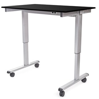 "Luxor STANDE-48-AG/BO Stand Up 48"" Electric Desk"