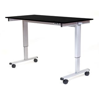 """Luxor STANDE-60-AG/BO Stand Up 60"""" Electric Desk"""