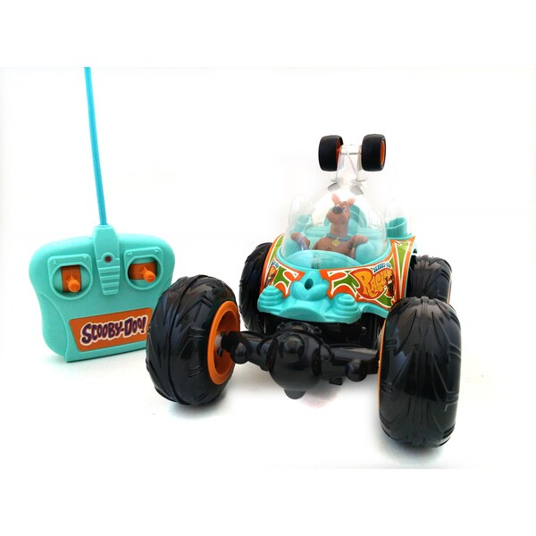 NKOK Full Function Remote Control Scooby-Doo Cyclone Tumbler Stunt Car