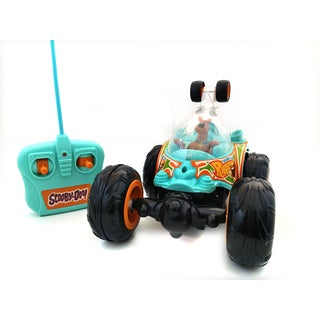 NKOK Full Function Remote Control Scooby-Doo Cyclone Tumbler Stunt Car