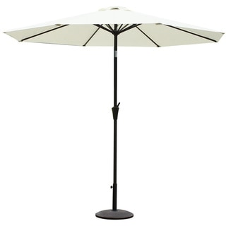 Adeco Patio Market Aluminum/Polyester Umbrella