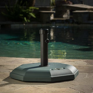 66-pounds Octagonal Dark Concrete Umbrella Base by Christopher Knight Home