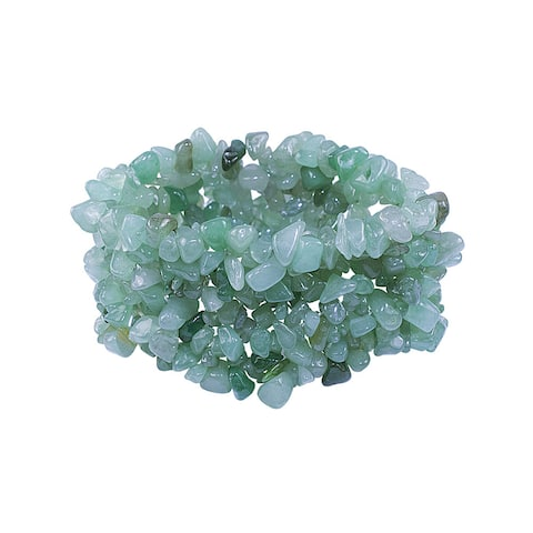 Aventurine Stretch Bracelet - Green