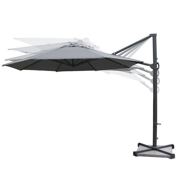 Shop Abba Patio 11 Ft Aluminum Cantilever Umbrella Outdoor