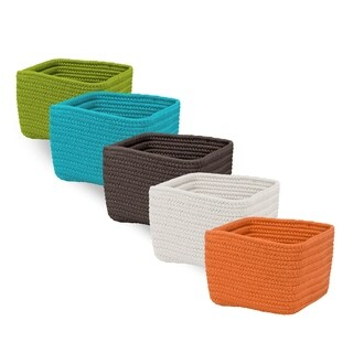 Braided Cube Flexible Basket