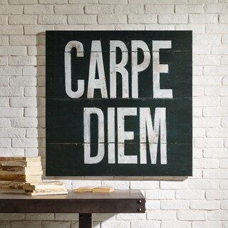INK + IVY Carpe Diem Printed Canvas with Gel Coat