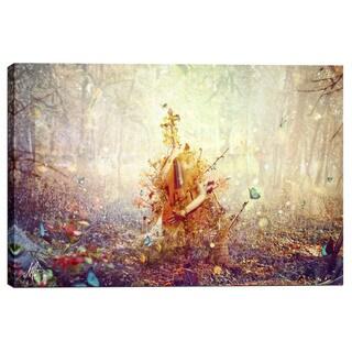 """Cortesi Home Mario Sanchez Nevado """"Silence"""" Giclee Canvas Wall Art"""