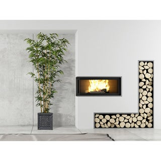 78-inch Bamboo Tree in Natural Poles in Planter