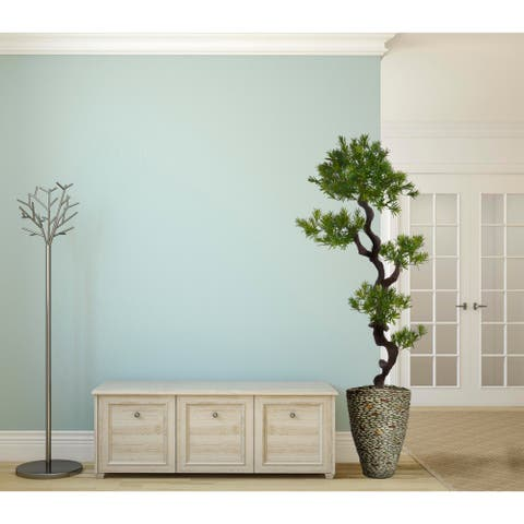 """62-inch Tall Yacca Tree in Planter - 72.5"""""""