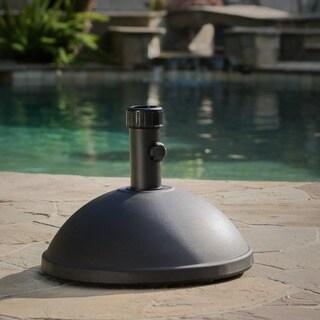 55-pound Dome Black Concrete Umbrella Base by Christopher Knight Home