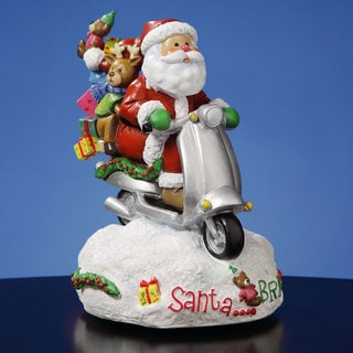 Santa...Bring It! Figurine by San Francisco Music Box Factory