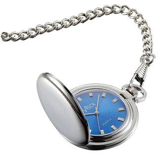 Visol Lazuli Japanese Quartz Pocket Watch