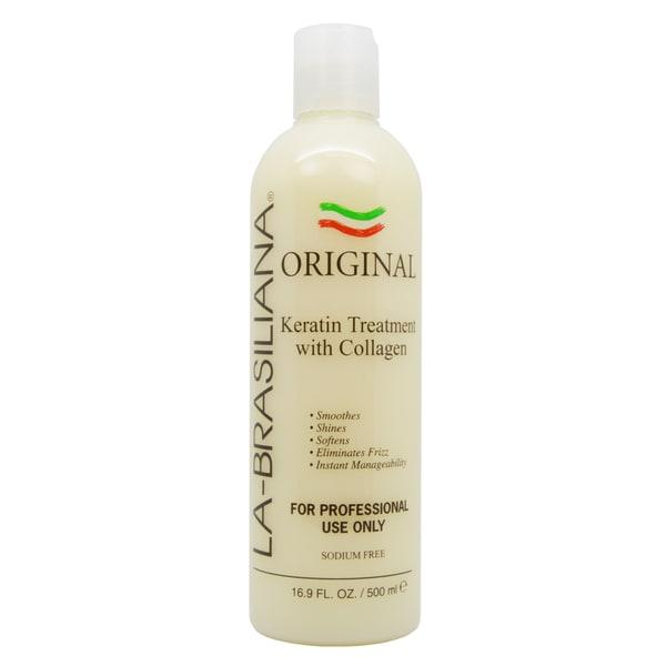 Shop La Brasiliana 16 9 Ounce Original Keratin Treatment Free