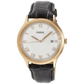 Fossil Women's FS4743 'Ansel' Black Leather Watch