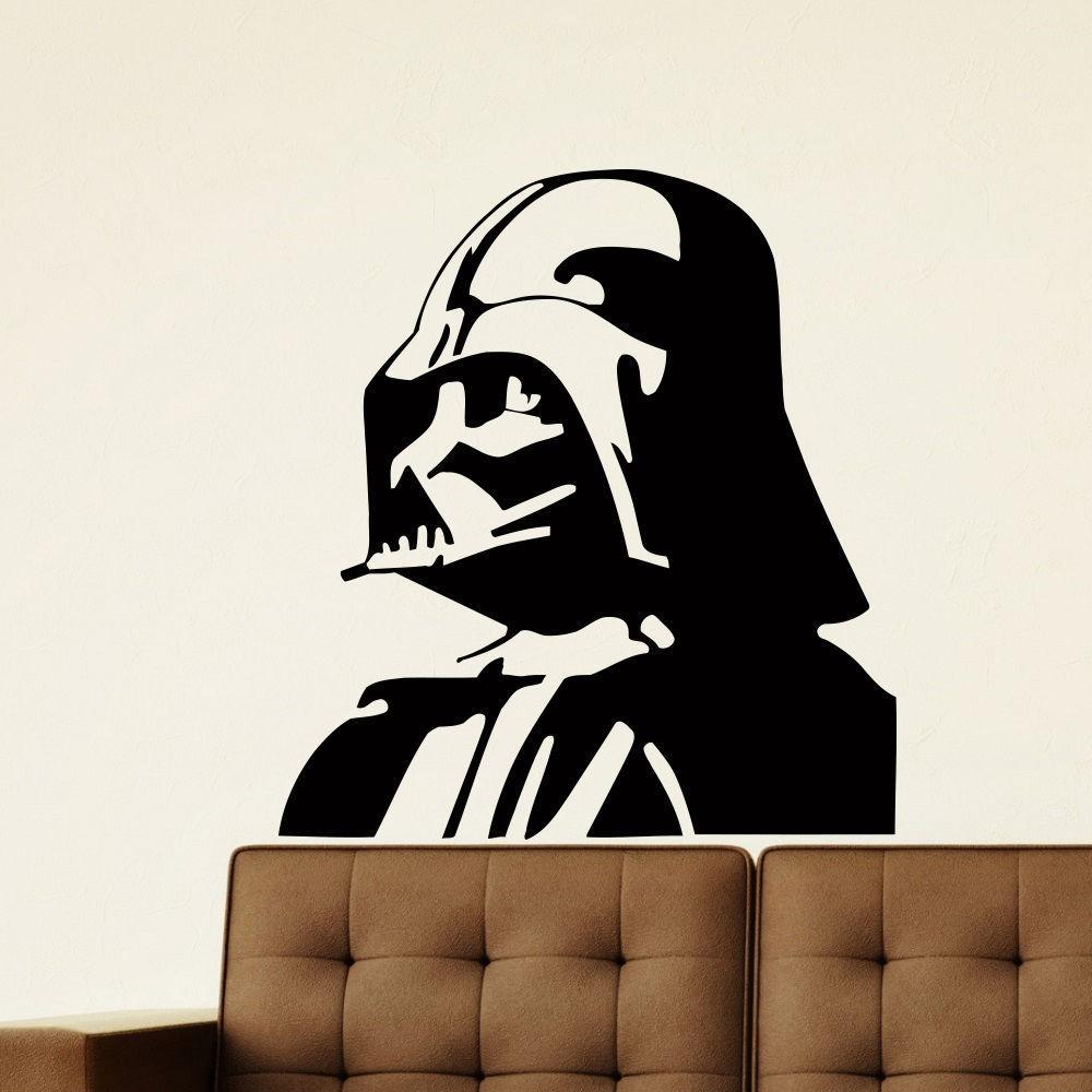 Darth Vader Vinyl Wall Art Decal Sticker (22 inches x 30 ...