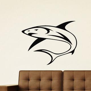 Shark Vinyl Wall Art Decal Sticker