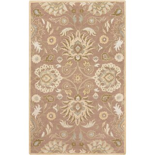 Hand-Tufted Patchway Wool Area Rug - 12' x 15'