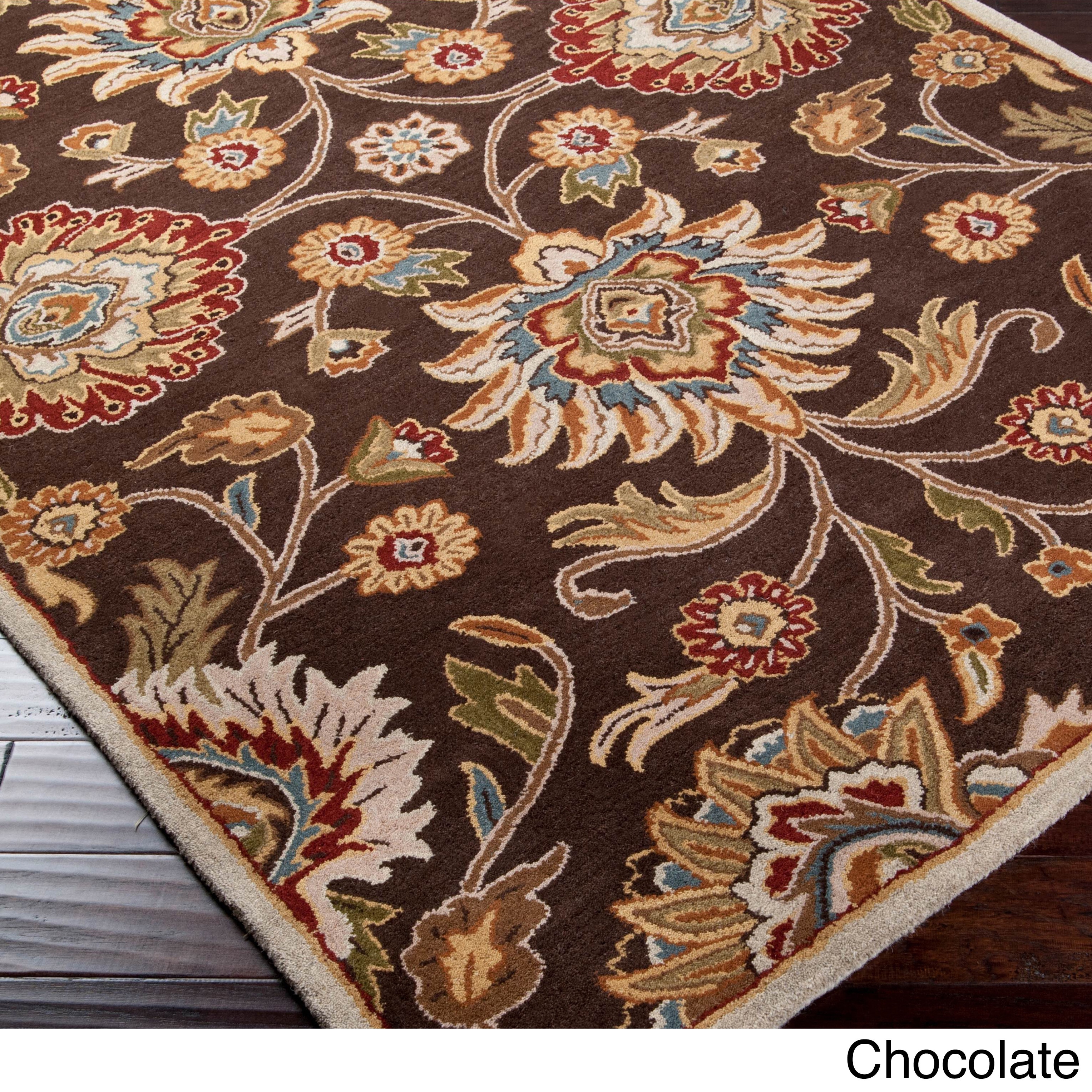 Hand Tufted Patchway Wool Area Rug 12 X 15 Ebay