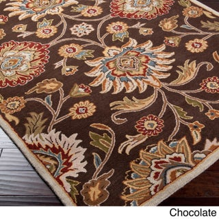 Hand-Tufted Patchway Wool Area Rug (12' x 15') (More options available)
