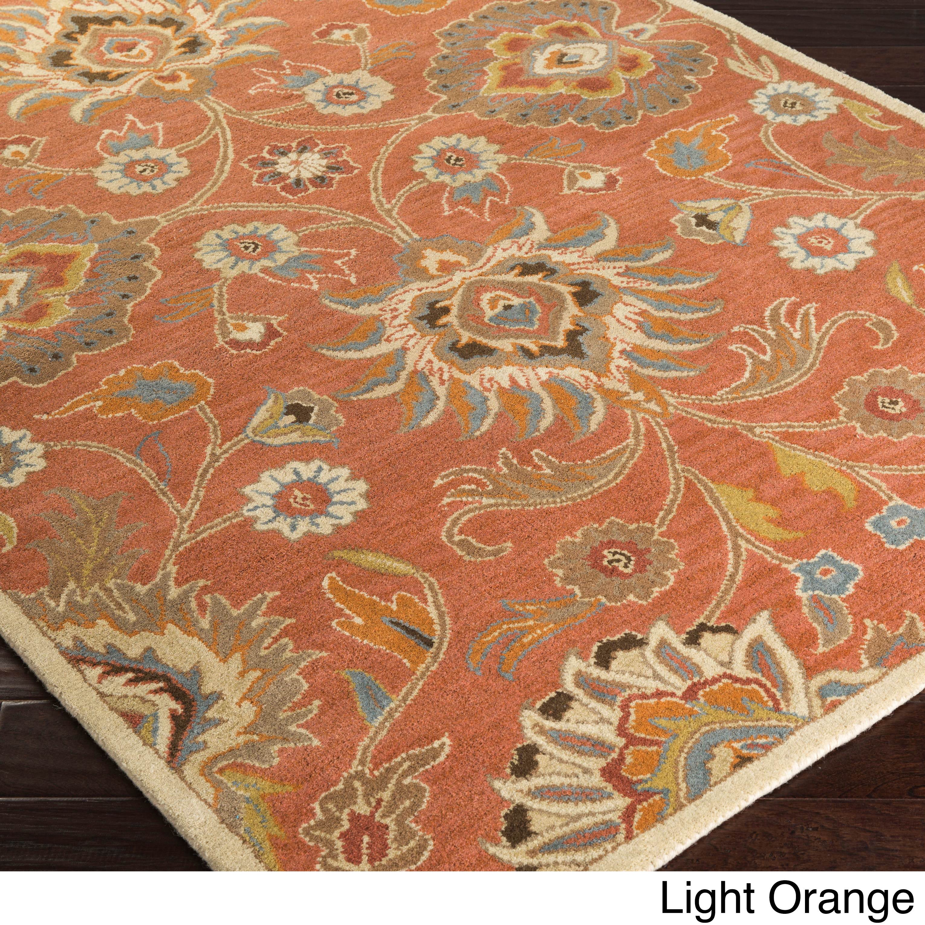 New Persian Hand Tufted Wool Oval Area Rug: Hand-Tufted Patchway Wool Area Rug (12' X 15')