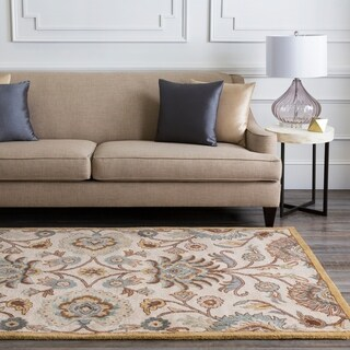 Hand-Tufted Patchway Wool Area Rug (12' x 15')