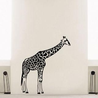 Giraffe Vinyl Wall Art Decal Sticker