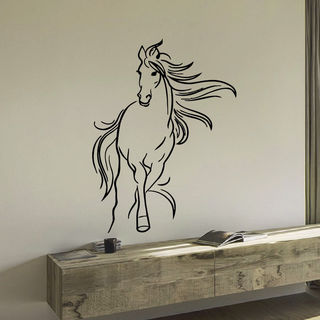 Mustang Horse Vinyl Wall Art Decal Sticker