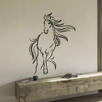 Mustang Horse Vinyl Wall Art Decal Sticker